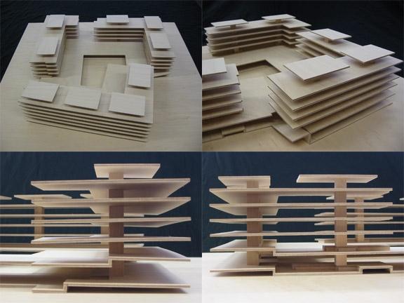 Wohn berbauung siebenm ttli rohr werk home peter - Skelettbau architektur ...